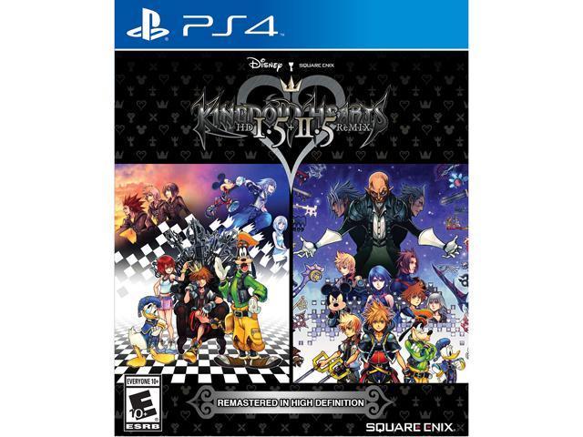 Kingdom Hearts 1 5 + 2 5 HD Remix - PlayStation 4 - Newegg com