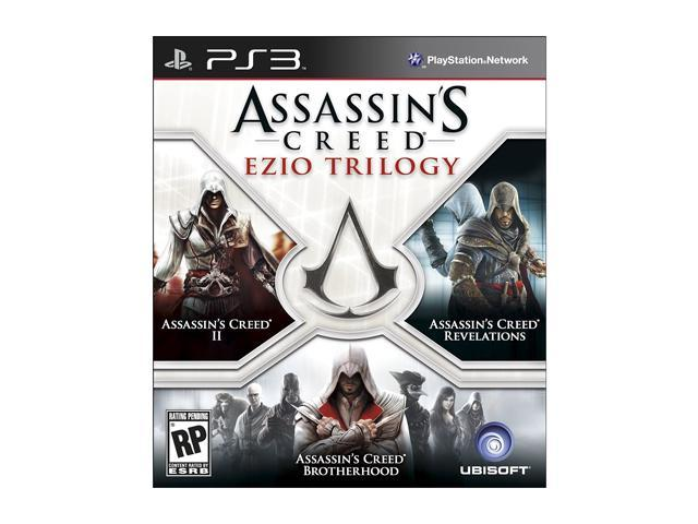 Assassin S Creed Ezio Trilogy Playstation 3 Newegg Com
