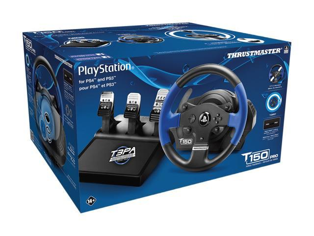 Thrustmaster T150 PRO Racing Wheel with T3PA Wide 3-Pedal Set - PS4/PS3/PC  - Newegg com