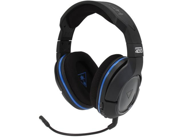 4bea70b0e22 Turtle Beach Ear Force Stealth 400 Premium Fully Wireless Gaming Headset  for PlayStation 4, PlayStation 3, and Mobile Devices (TBS-3240-01)