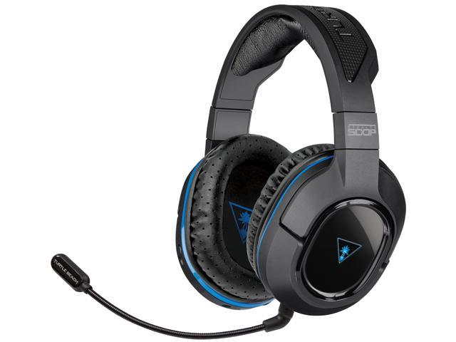 Turtle Beach Ear Force Stealth 500p Premium Fully Wireless Gaming Headset For Ps4 Ps3 And Mobile Devices Newegg Com