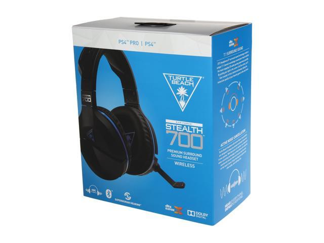 Turtle Beach Stealth 700 Premium Wireless Surround Sound Gaming Headset for  PlayStation 4 Pro and PlayStation 4 - Newegg com