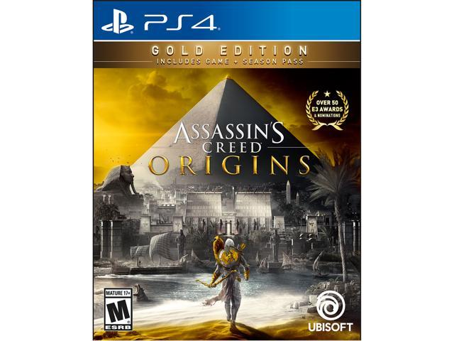 Assassin's Creed Origins SteelBook Gold Edition - PlayStation 4 - Newegg.com