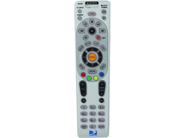 DIRECTV RC65R Universal Remote Control for Cable Receiver Satellite TV Switch