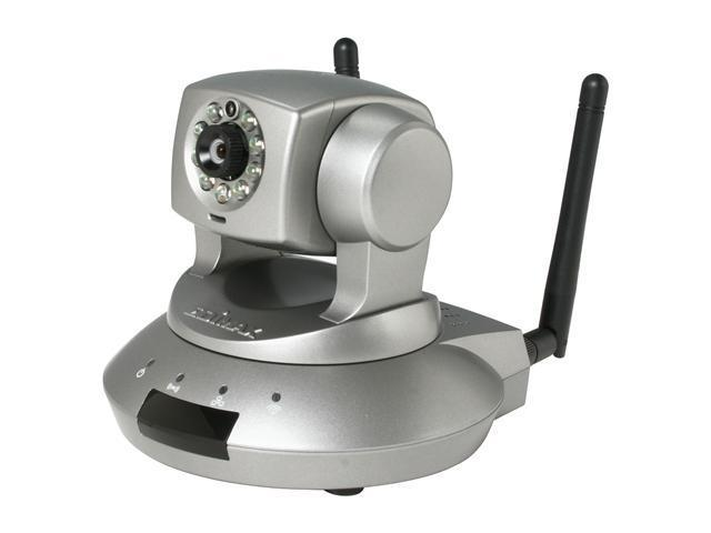 EDIMAX IC-7010PTn Wireless 802 11n Motorized Pan/Tilt Internet IP Camera  With H 264, Night Vision and Smart iCatch Feature to View Real Time Screen