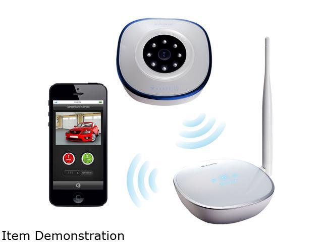 Asante 99 00900 Us Remote Viewing And Controlling By App Garage Door