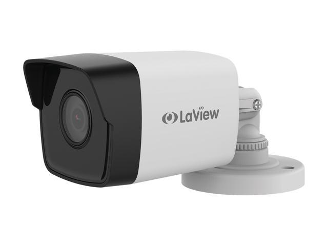 LaView 4MP 2688 x 1520P Full PoE IP Camera Security System, 8 Channel H 265  NVR w/ 4K Output, 4 x 4MP Full HD (2688 x 1520) In / Outdoor IP Cameras
