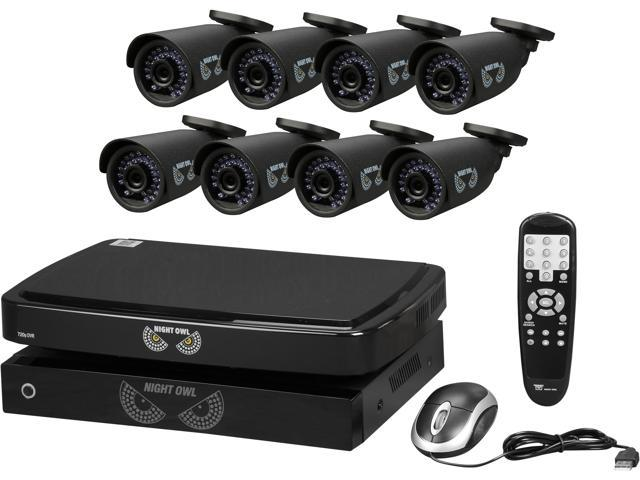 Night Owl B-BBA720-82-8 8 Channel Smart HD Video Security