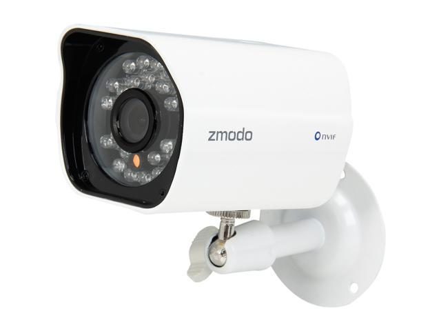 Zmodo ZP-KE1H04-S-1TB 4CH NVR + 4 HD 720P Day / Night Outdoor sPoE IP  Camera w/ 1 TB HDD Smartphone Scan QR Code Quick Remote Access - Newegg com