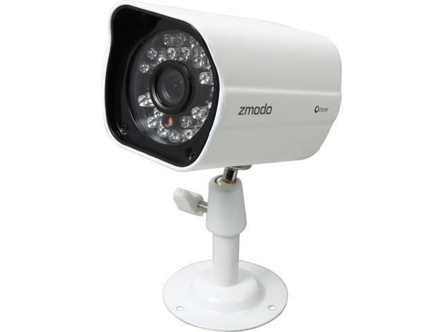 Zmodo ZP-IBH13-P 720P Day/Night Outdoor sPoE IP Camera with QR Code  Smartphone Setup - Newegg com
