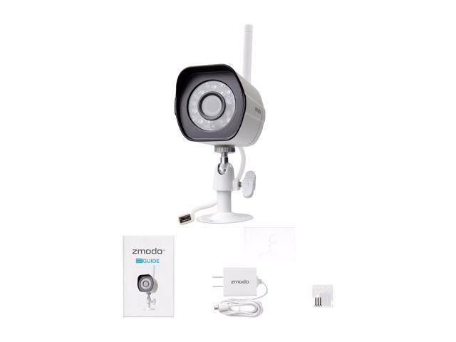 Zmodo 720p HD Outdoor Home Wireless Security Surveillance Video Camera  System - Newegg com
