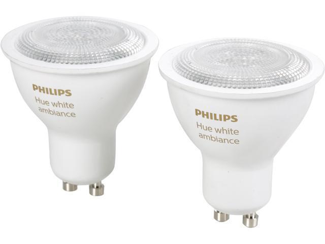 Philips Hue Gu10.Philips Hue Dual Pack Gu10 5 5w White Ambiance 466490