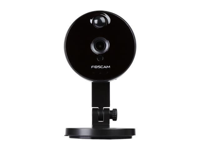 Foscam C1 Indoor HD 720P Wireless Plug and Play IP Camera, with IR-Cut,  Night Vision, 115 Degree Super Wide Viewing Angle, PIR Detection, Rich  Media