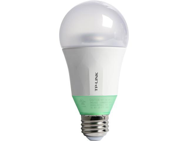 TP-LINK Kasa LB110 Smart Wi-Fi LED Bulb (A19 Bulb, E26 Fitting, 800 Lumens 60W, 2700K) with Dimmable Light, Compatible with Google Home and Amazon Echo Alexa