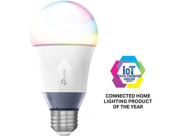 TP-LINK Kasa Smart Wi-Fi LED Bulb LB130 (A19 Bulb, E26 Fitting, 800 Lumens  60W, 2500K-9000K) Color Changing, Dimmable Light, and Compatible with