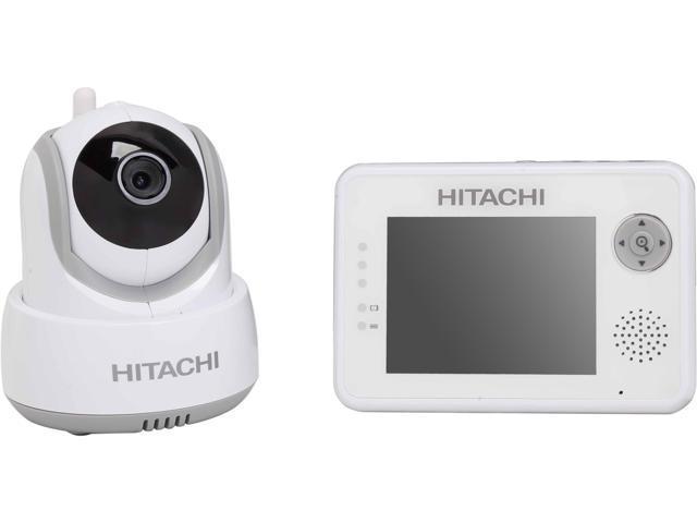 Hitachi BCM354A08 2 4 GHz Digital Video Baby Monitor with Night Vision &  Auto Tracking, Temperature Sensor - Newegg com