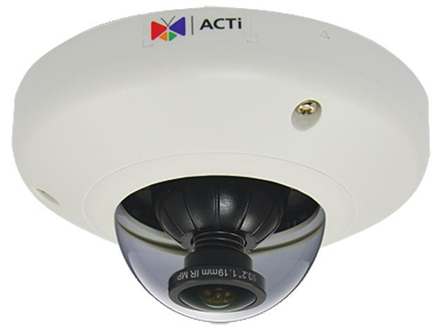 Acti E96 5mp Wdr Ik08 Vandal Resistant Indoor Mini Fisheye