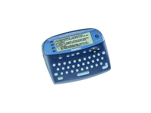 Franklin MWS-1840 Merriam-Webster Speaking Dictionary & Thesaurus -  Newegg com
