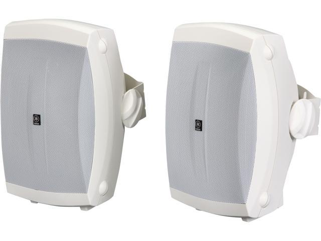 Yamaha Ns Aw150wh 2 Way Outdoor Speakers Pair White