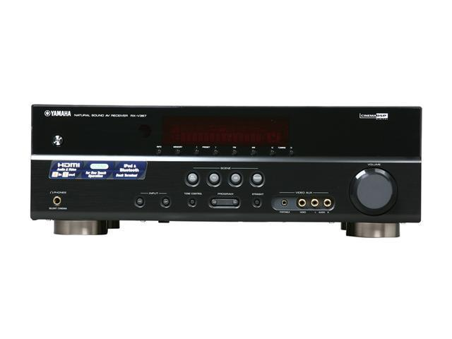 Yamaha 51 Channel Digital Home Theater Receiver Rx V367
