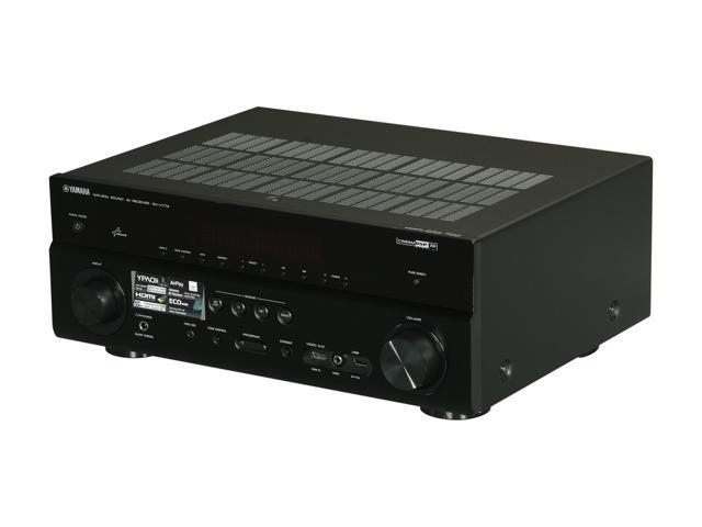 YAMAHA RX-V773WABL 7-Channel AV Receiver with WiFi Adapter - Newegg com