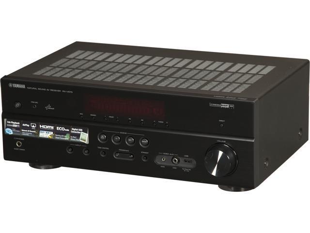 Refurbished: YAMAHA RX-V573 7 1-Channel Network AV Receiver - Newegg com