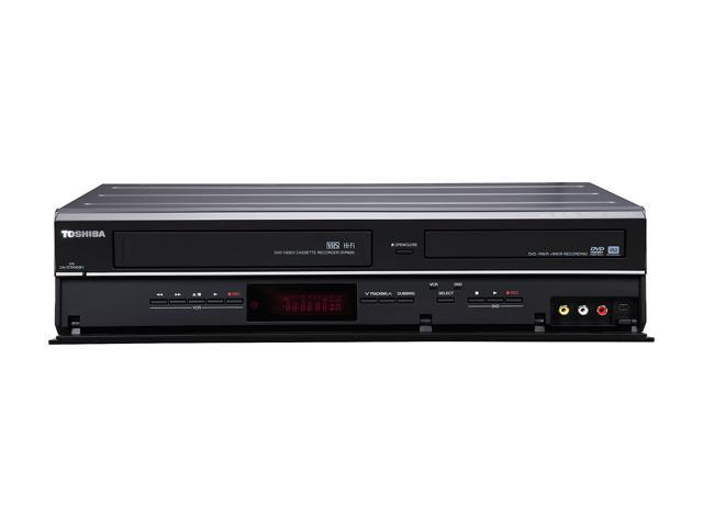 TOSHIBA DVR620 DVD Recorder/VCR Combo with 1080p Upconversion - Newegg com