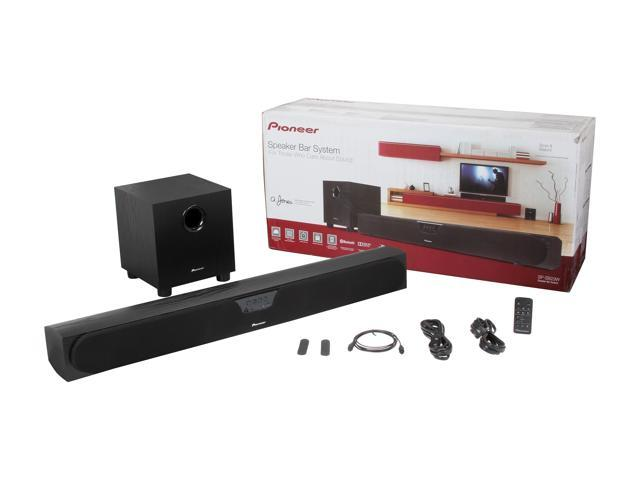 Pioneer SP-SB23W Andrew Jones Bluetooth Soundbar System with Wireless  Subwoofer - Newegg com