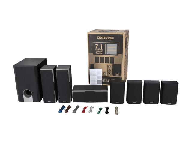 Onkyo Sks Ht540 7 1 Channel Home Theater Speaker System Newegg Com