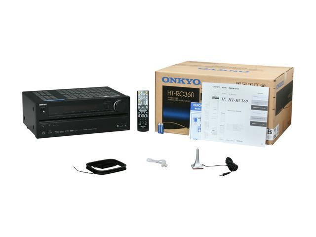 ONKYO HT-RC360 7 2-Channel Home Theater Receiver - Newegg com