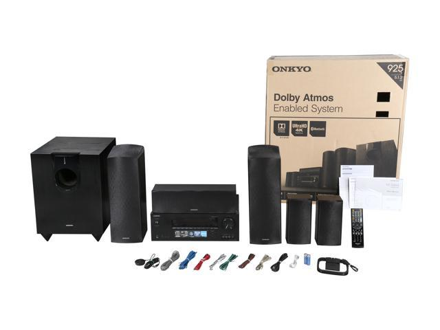 Onkyo HT-S5800 5 1 2 Channel Dolby Atmos Home Theater System W/ Bluetooth -  Newegg com