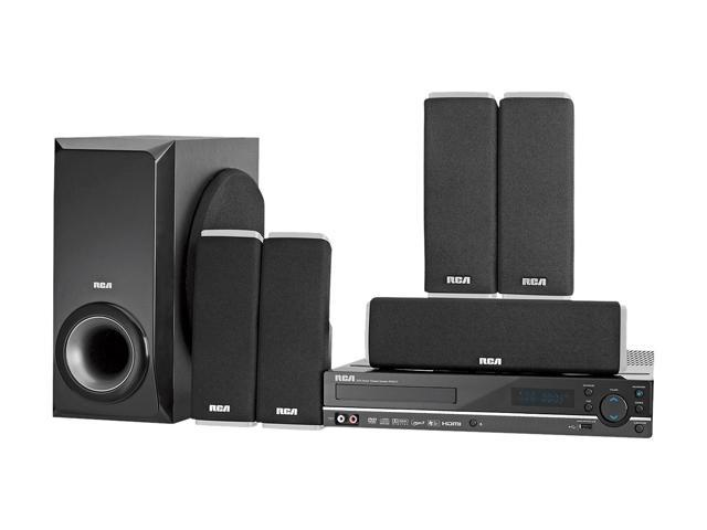 rca rtd317w home theater system with 1080p upconvert dvd newegg com rh newegg com RCA RTD317W Specs RCA RTD317W Review
