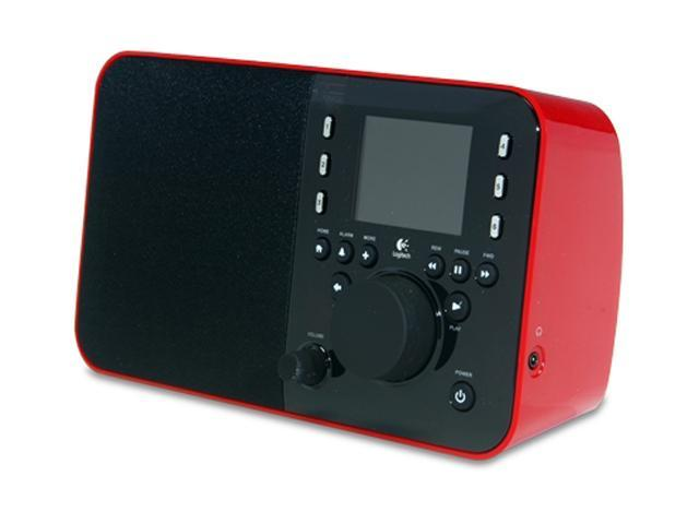 logitech squeezebox radio network audio player red 930 000097 rh newegg com Logitech User Guides Logitech Squeezebox Radio Red Prices
