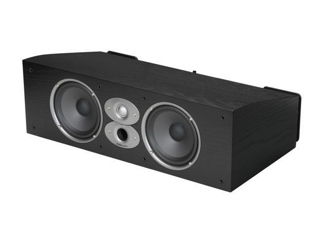 Polk Audio CSI A6-Black High Performance Center Speaker Single, Dual 6 5  inch Drivers and a 1-inch dome tweeter - Newegg com