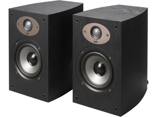 Polk Audio TSX110B BLACK 2 Way Speaker With 5 1 4 Inch Driver