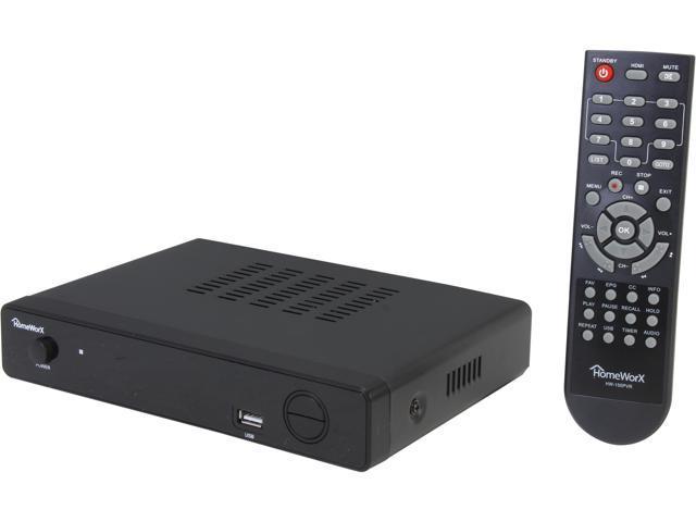 Mediasonic HomeWorX ATSC Digital Converter Box with TV Recording, Media  Player, and TV Tuner Function (HW-150PVR)