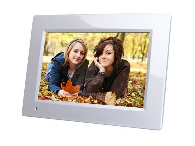 Viewsonic Dpx704wh 7 7 800 X 480 Digital Photo Frame W128mb