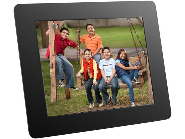 Aluratek Adpf08sf 8 800 X 600 Digital Photo Frame With Auto