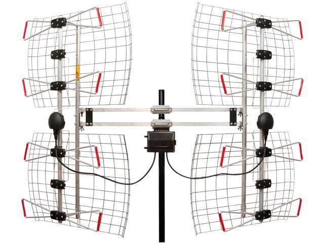 ANTENNAS DIRECT INC  DB8-E Enhanced DB8e Multi-Directional Bowtie UHF  Antenna - Newegg com
