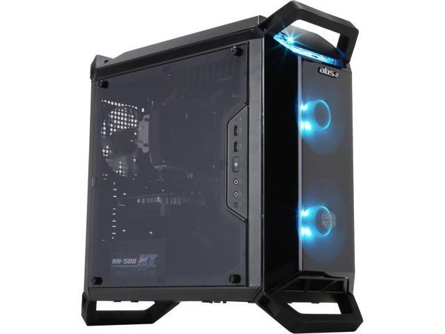 ABS Master-Pro - Ryzen 5 2400G - GeForce GTX 1050 Ti - 16GB DDR4 - 120GB  SSD - 1TB HDD - Gaming Desktop PC - Newegg com