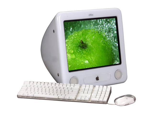 Apple All In One Pc Emac A1002 Powerpc G4 1 42 Ghz 512 Mb Ddr 80 Gb