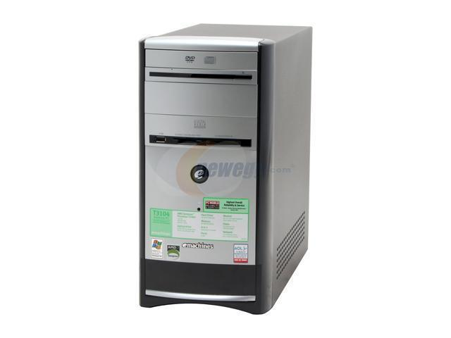 EMACHINE T3104 SOUND DRIVER WINDOWS