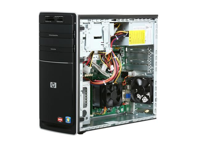 HP Desktop PC Pavilion p6720f (BV532AA#ABA) Phenom II X4 840T (2 90 GHz) 6  GB DDR3 1 TB HDD ATI Radeon HD 4200 Windows 7 Home Premium 64-bit -