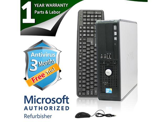 Refurbished: DELL Desktop Computer 780 Core 2 Duo E8400 (3 00 GHz) 8 GB  DDR3 1 TB HDD Windows 7 Professional 64-bit - Newegg com