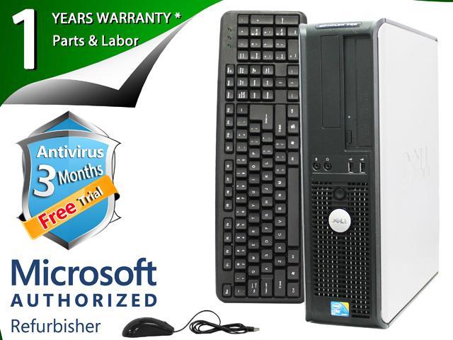 Refurbished: DELL Desktop Computer 780 Core 2 Duo E8400 (3 00 GHz) 8 GB  DDR3 2 TB HDD Windows 7 Professional 64-bit - Newegg com