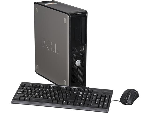 Refurbished: DELL Desktop Computer OptiPlex 380 Dual Core 2 70GHz 2GB DDR3  160GB HDD Windows 7 Home Premium (Microsoft Authorized Refurbish) -