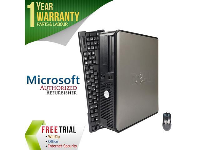 Refurbished: DELL Desktop Computer 380 Core 2 Quad Q6600 (2 40 GHz) 8 GB  DDR3 1 TB HDD Windows 7 Professional 64-bit - Newegg com