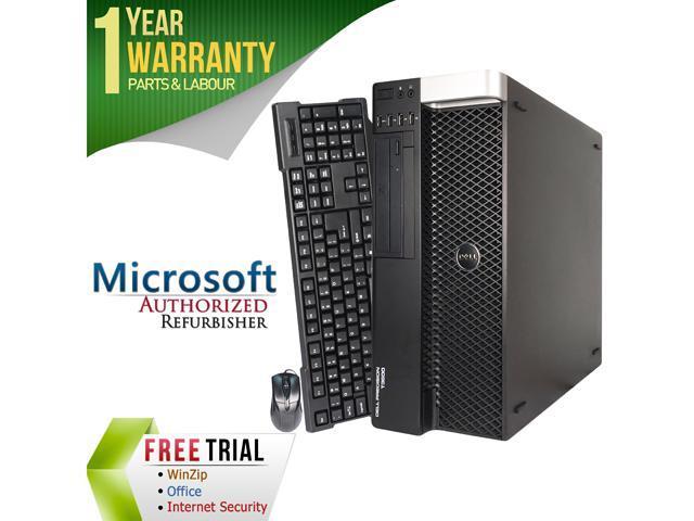 Refurbished: DELL Desktop Computer Precision T3600 Intel