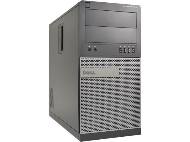 DELL Desktop Computer 990 Intel Core i5 2400 (3.10 GHz) 8 GB 1 TB HDD Windows 10 Pro 64-Bit