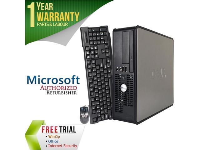 Refurbished: DELL Desktop Computer OptiPlex 740 Athlon 64 X2 3800+ (2 00  GHz) 2 GB DDR2 80 GB HDD Windows 10 Home Multi-Language, English / Spanish  -